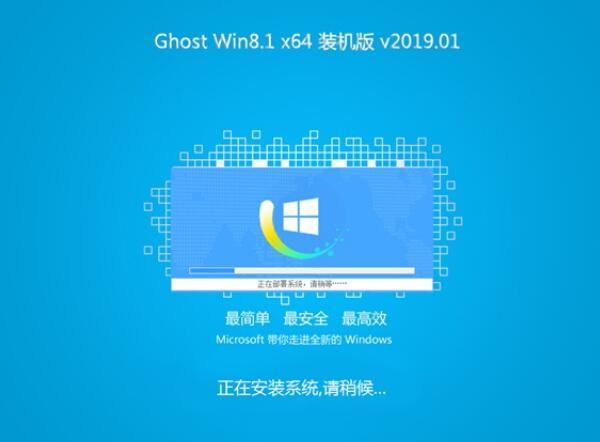 风林火山Ghost Win8.1 64位 快速装机版 v201901