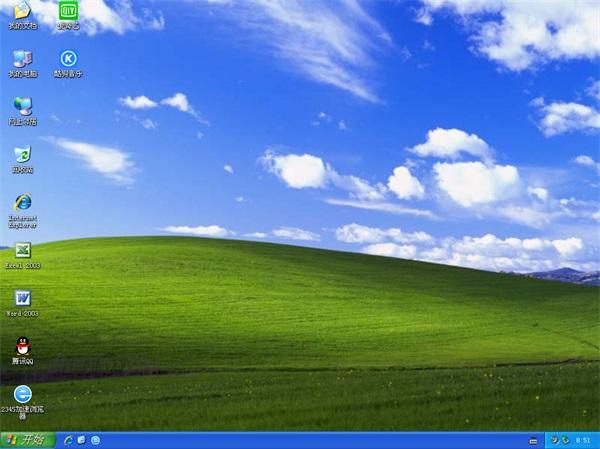 深度技术GHOST XP经典装机版
