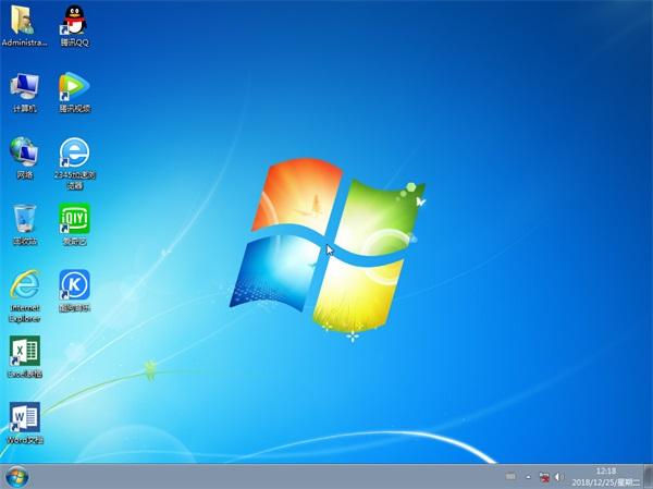 电脑公司 Win7 x86 超纯旗舰版v2019.01
