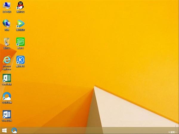 Win8.1 x64 全新装机版