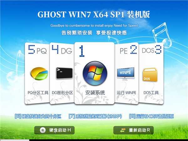 GHOST WIN7 SP1 X64 装机版 v201903